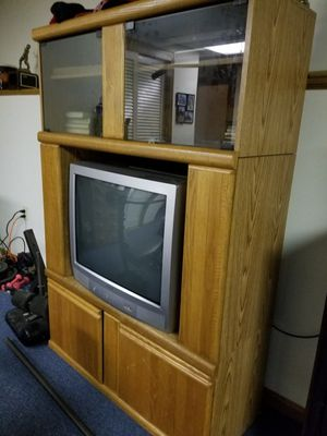 Free Tall TV stand for Sale in Raymond, NH