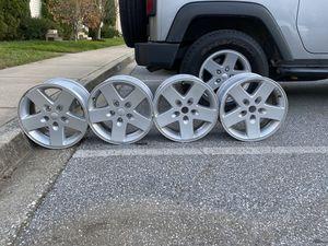4 OEM 17 in Jeep Wheels for Sale in Ellicott City, MD