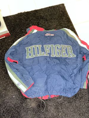 Vintage Authentic Tommy Hilfiger Windbreaker Men's Size M for Sale in Washington, DC