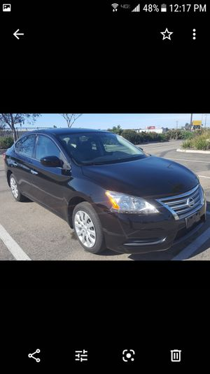 2015 Nissan sentra 6 speed manual clean title one owner all power with smog great gas mileage for Sale in San Marcos, CA