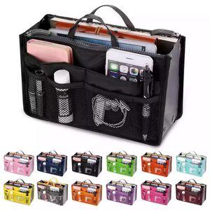 Organizer Insert Bag Women Nylon Travel Insert Organizer Handbag Purse Large liner Lady Makeup Cosmetic Bag Cheap Female Tote for Sale in Brooklyn, NY