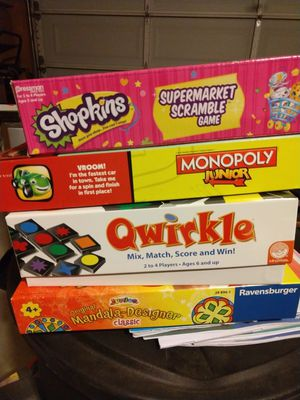 Board games for kids for Sale in Irvine, CA