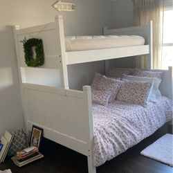 Pottery Barn Twin (top bunk) Bed for Sale in Fairfield,  CT