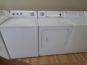 WHIRLPOOL WASHERS AND DRYER SET for Sale in Santa Rosa, CA