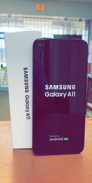 """Samsung Galaxy A11 - Brand New In The Box - Factory Unlocked - 6.4"""" Screen - 3 Cameras for Sale in Arlington, TX"""