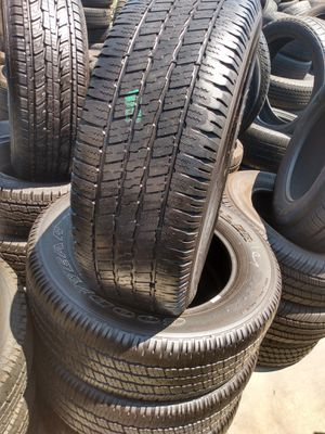 Set of used Goodyear 275/60/20 for Sale in Stanton, CA