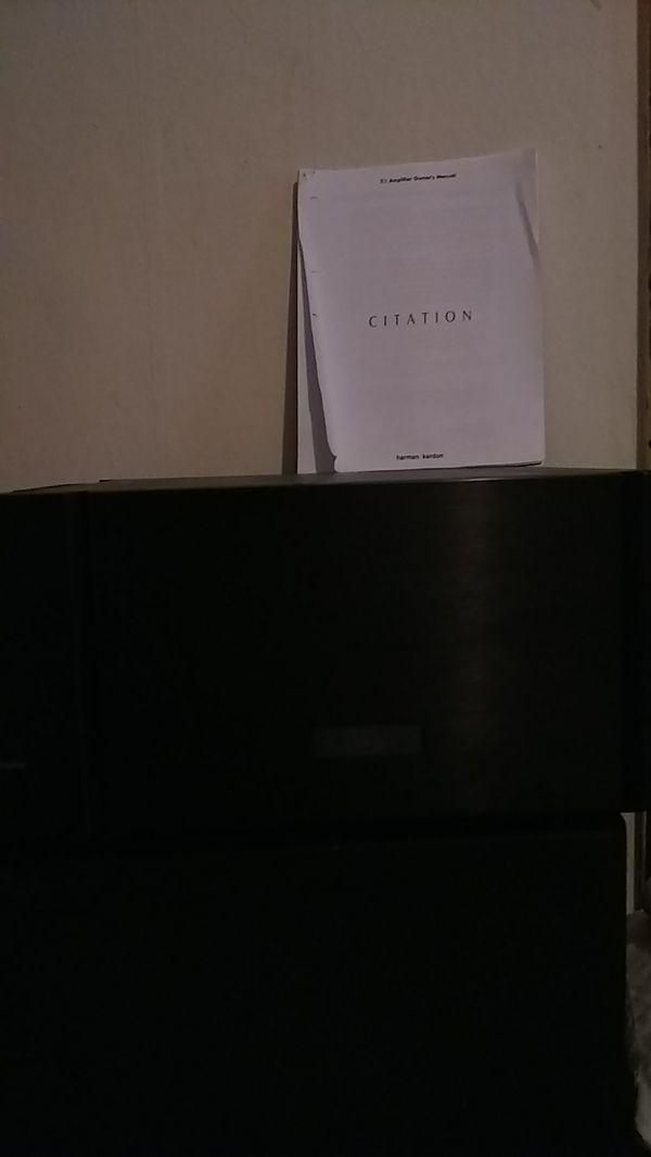 Harman/Kardon citation 7.1 Amplifier