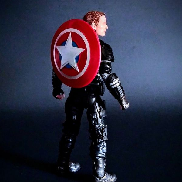 CAPTAIN AMERICA & JOCASTA Marvel Legends