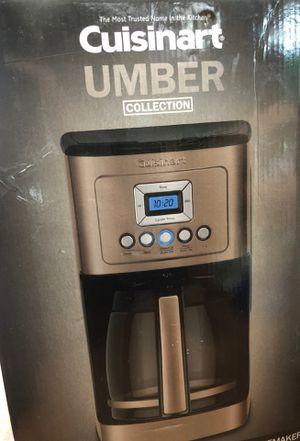Cuisinart umber coffee maker for Sale in Wilsonville, OR