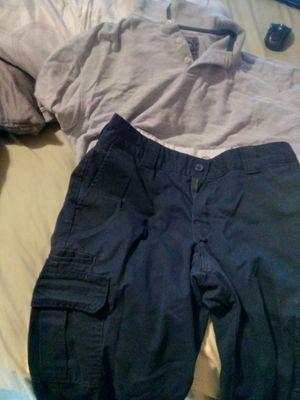 Boys uniform pants 32/32L shirts Lg for Sale in Philadelphia, PA