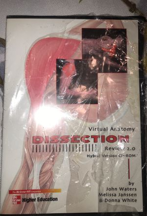 Virtual Anatomy Dissection Review 2.0 Hybrid Version CD-Rom for Sale in Anaheim, CA