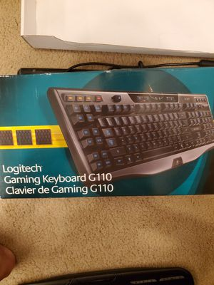 Logitech Keyboard - G110 for Sale in College Station, TX