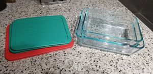 Pyrex rectangle storage containers for Sale in Charlotte, NC