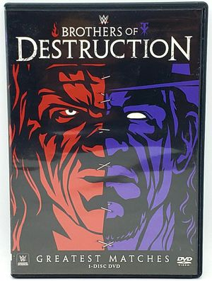 WWE: Brothers of Destruction Greatest Matches (DVD, 2014) for Sale in Harrisonburg, VA