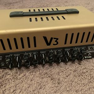 carvin v3m head tube amp with footswitch made in USA for Sale in Yorba Linda, CA