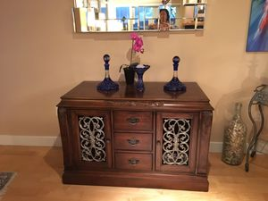 Console or Cabinet or TV stand with lots of drwer for Sale in San Diego, CA