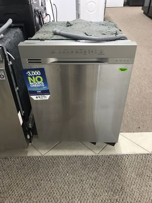 Brand new never used Samsung three racks stainless steel dishwasher finance no credit check 90 days no interest same as cash only five dollars down for Sale in Missouri City, TX