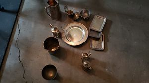 Silver from Frederick Nelson all items stamped. for Sale in Brier, WA