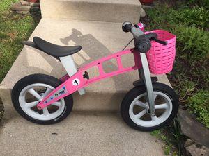 First Bike Street Balance Bike - Pink for Sale in Alexandria, VA