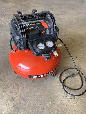 Porter Cable 6 Gallon pancake compressor for Sale in Covina, CA