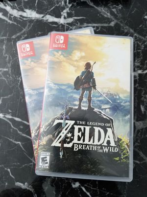 Nintendo switch Zelda breath of the wild for Sale in Chicago, IL