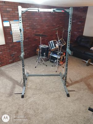 Squat Rack, Bench Press, Pull up Bars. for Sale in East Wenatchee, WA