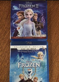 Frozen 1 and 2 Blu-ray, Disney Marvel DC Harry Potter the Star Wars movies 3D Bluray and dvd collectors for Sale in Everett,  WA