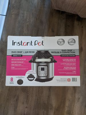 Instant Pot Duo Air Fryer(8qt) for Sale in Cedar Creek, TX