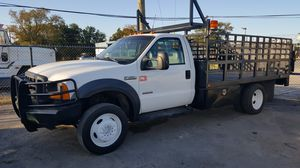 2006 Ford F450 Flatbed Auto Diesel ! for Sale in Pasadena, TX