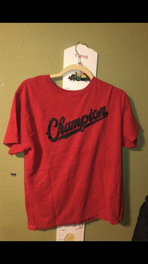 Red Champion shirt size: Medium for Sale in Kirkland, WA