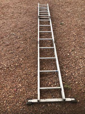 16 foot folding extension ladder for Sale in Las Vegas, NV