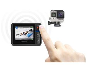 Removu REMOVU R1+ (Plus) Waterproof (IPX7) Wireless Remote Viewer and Controller for GoPro for Sale in Plainfield, IL