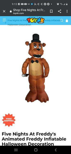Five nights at Freddy's inflatable for Sale in Tampa, FL
