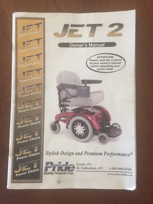 Jet 2 Powered Wheelchair for Sale in Palm City, FL