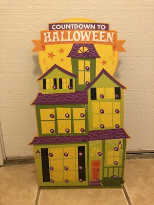 Halloween Countdown Advent Calendar for Sale in San Diego, CA