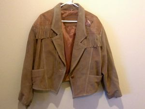 Fringed Suede Leather jacket for Sale in Vista, CA
