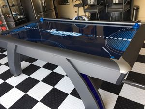 Air hockey table lights up blue works great for Sale in Chula Vista, CA