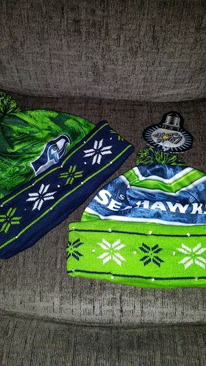 Seattle Seahawks light them up Christmas hats for Sale in Seattle, WA
