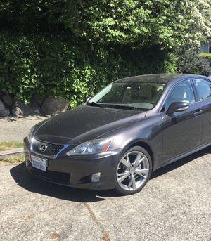 2010 Lexus IS 250, RWD for Sale in Seattle, WA