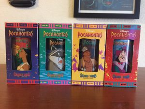 Disney Pocahontas Cups for Sale in San Leandro, CA
