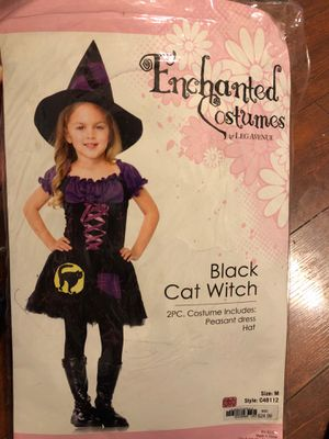 Kids witch costume size Medium for Sale in Mansfield, TX