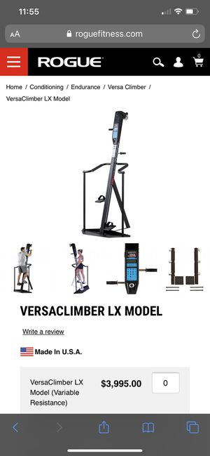 Versa climber for Sale in Las Vegas, NV