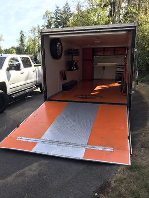 24' Enclosed Trailer for Sale in Puyallup, WA