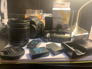 Canon SL1/100D Kit For Sale (two lenses + accessories) for Sale in San Diego, CA