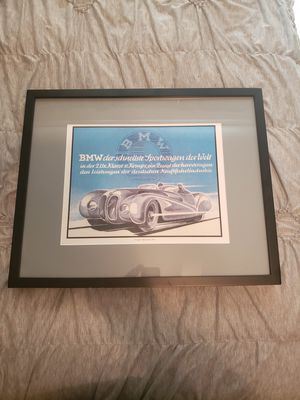 BMW print for Sale in Taylors, SC