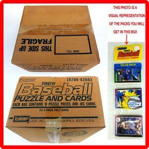 1989 Donruss Baseball Sealed Rack Pack Case for Sale in Whittier, CA
