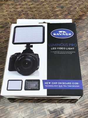 Brand new video light for Sale in Raleigh, NC