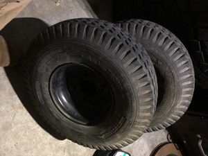 Trailer tires with rims set of 2 for Sale in Snoqualmie, WA