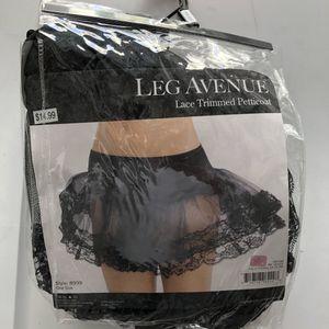 Leg Avenue Lace strummed Petticoat for Sale in Anaheim, CA