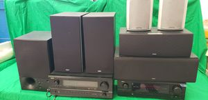 7 Energy Speakers and 2 Denon Receivers for Sale in San Diego, CA